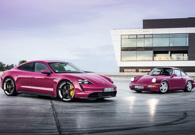 Porsche Taycan обновился и стал более дальнобойным